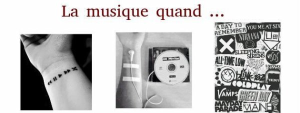 . TAG La musique quand ... .