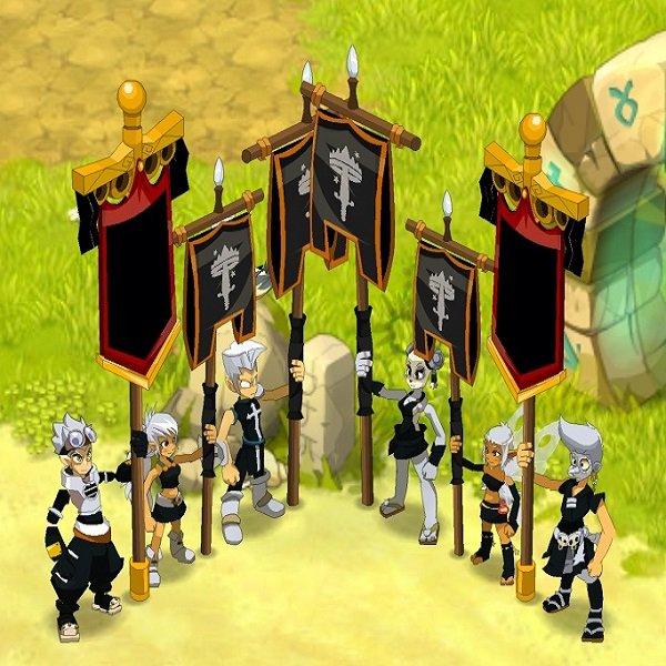 Team com 6 chars