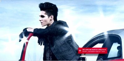 Bill et Tom : Audi Photoshoot(2)