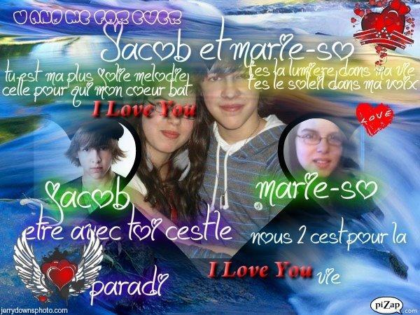 Jacob et moiii c'est pour la viiie!!!