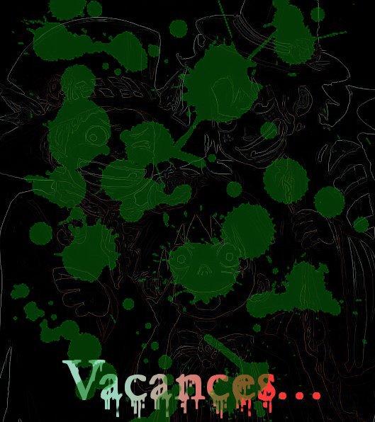 Vacances de la Toussaint (+Bonus : L'enquête de la tâche blanche)