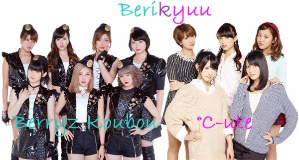 Concert Berryz Koubou x °C-ute à Japan Expo