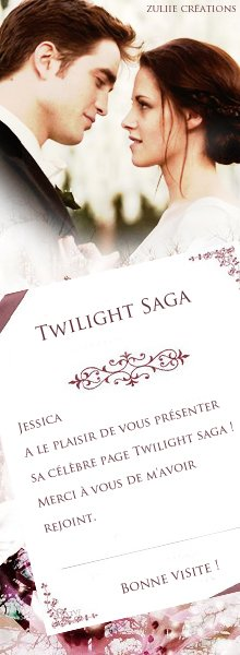 Bienvenue sur Twilight Saga Blog Off / Welcome on Twilight Saga Blog Off