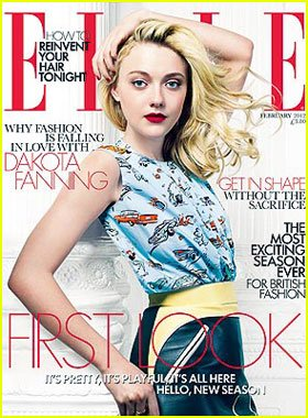 Dakota Fanning en couverture du ELLE/Dakota Fanning on the cover of ELLE!