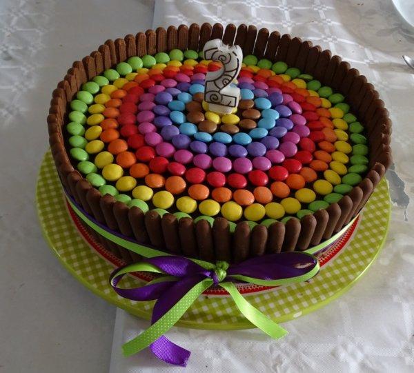 Gâteau pour ses 2 ans