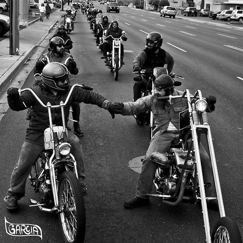 Amietier et sincérité respect les ''mots d'ordres ' des bikers '