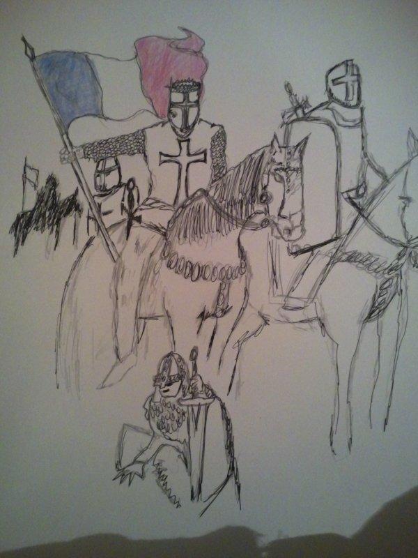 as toi braves soldats  sauve ton pays  'la FRANCE ' honneurs fidélité ,bravoure'