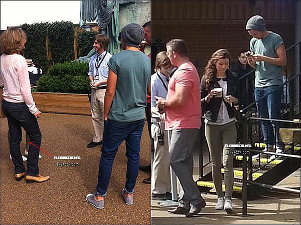23/08/2012 Eleanor et Louis ont visité les studios d'Harry Potter.