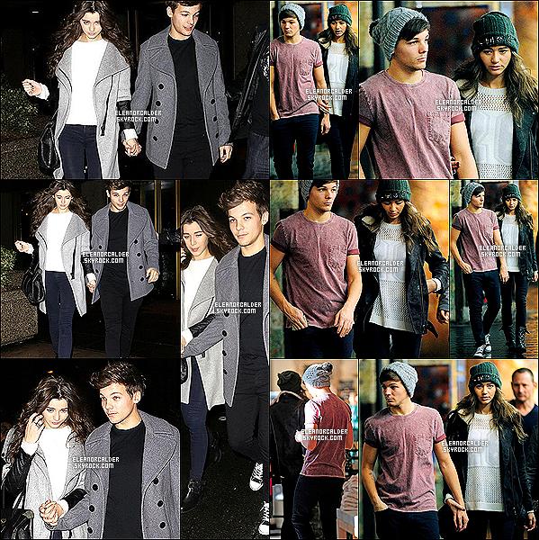 03/12/2012 Louanor, Diam et Zerrie étaient à la sortie du restau'  The Frisco's. Le lendemain, Eleanor et Louis ont été photographié en train de retirer de l'argent dans un guichet de New York.