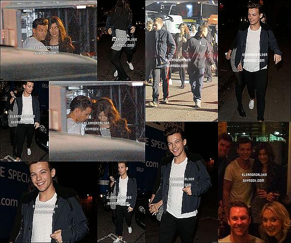09/12/12 | Louanor sortait des studios de X Factor UK, ils ont assisté à la finale.