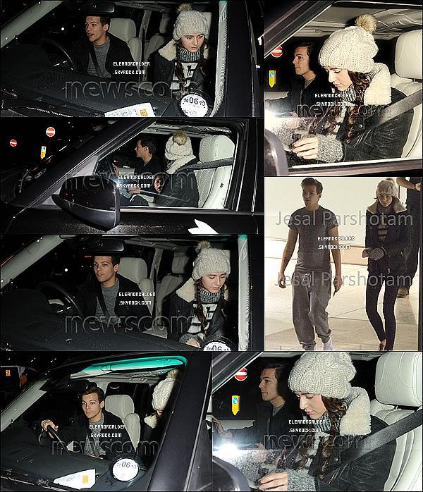 21 Décembre 2012 || Louanor ont été aperçus à l'aéroport Heathrow à Londres.