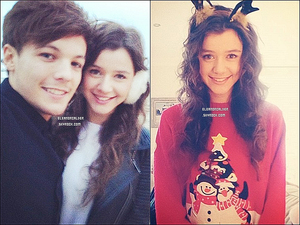 Eleanor a posté ses photos sur son compte twitter. Tu la trouve comment?.