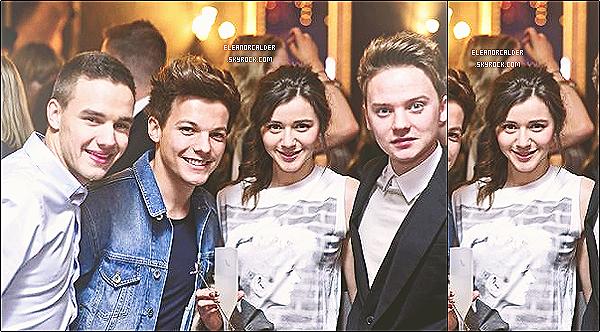 .24/01/2013 : Eleanor et Louis se sont rendus aux « Pré-Brits Awards »