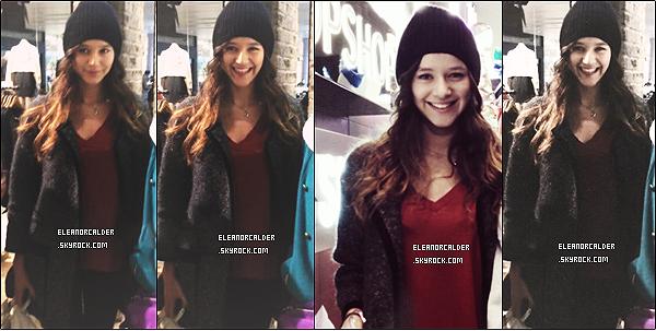 .2/0/2013 : Eleanor Calder a été vue, seule, faisant une séance de shopping - à Manchester.