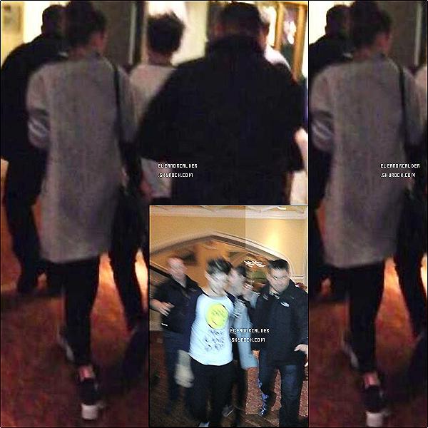 .16/03/2013 :  Eleanor et Louis ont été quittant la salle après le concert des One Direction  - à Belfast