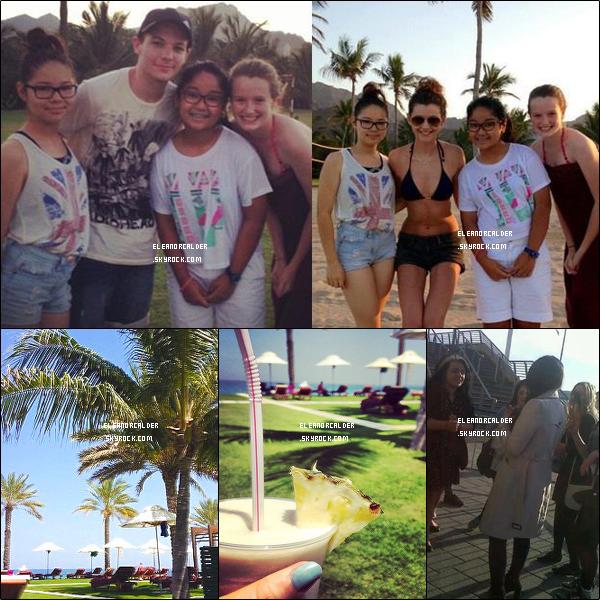 .29/03/2013 : Eleanor et son Boyfriend Louis Tomlinson. profitant de leurs vacances.  - à Dubai