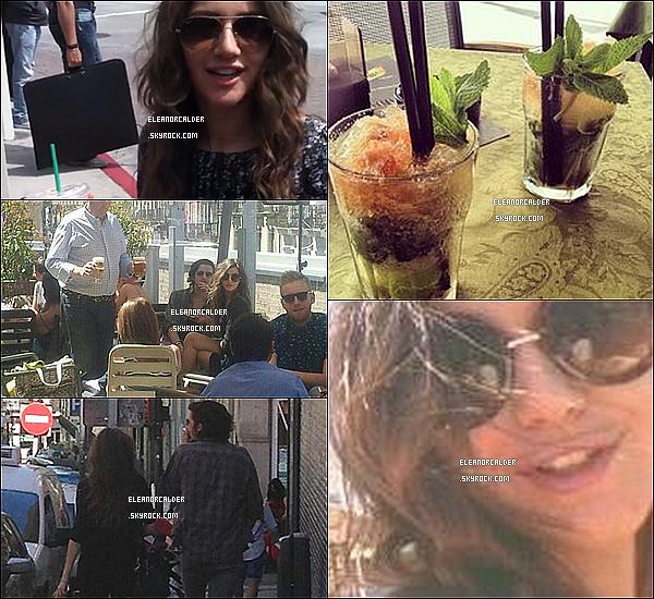 """.25/05/13 :  Eleanor ravissante comme toujours, a été aperçue par des """"fans"""" à Madrid."""