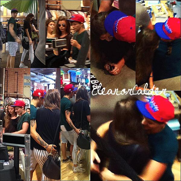 .03/07/13 :  Louis & Eleanor, ont été vus par des fans dans des magasins à Montreal.