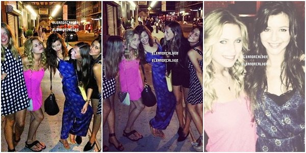 .20/07/13 :  Eleanor,Alana et Megan étaient ensemble à New York City !