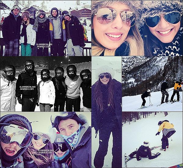 25/26 Janvier 2014 || Eleanor & Louis sont allés faire du ski au Val d'Isère en France