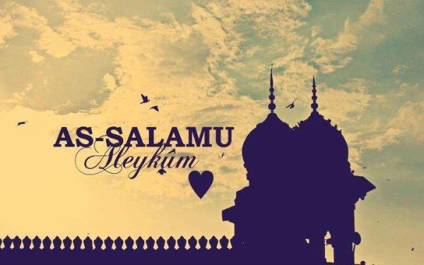 Salem Aleykoum wA Rahmatûh Allah wA Brakatûh