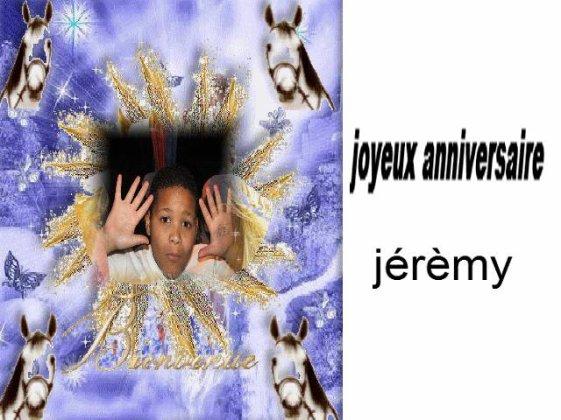 Joyeux Anniversaire Jeremy Les Gospel Kids