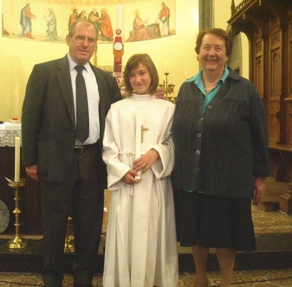 01/04/2011 CONFIRMATION DE NOTRE TIT FILLE MEGANE..