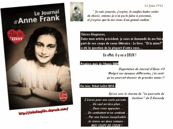 Anne Frank, Journal