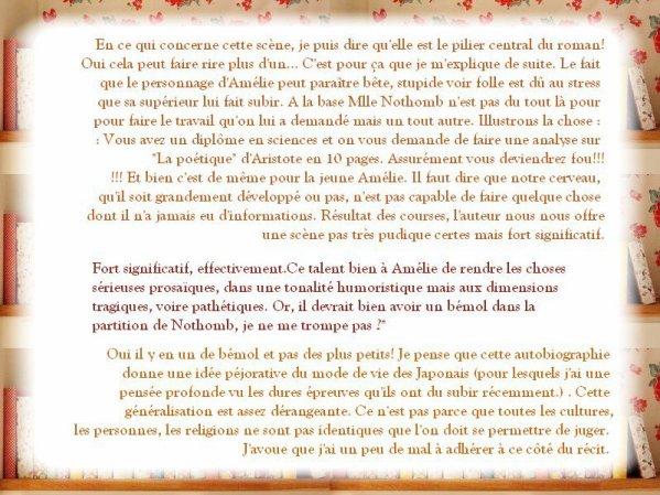 Stupeur et tremblements (Suite)