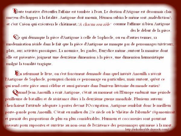 Antigone (2ème partie)
