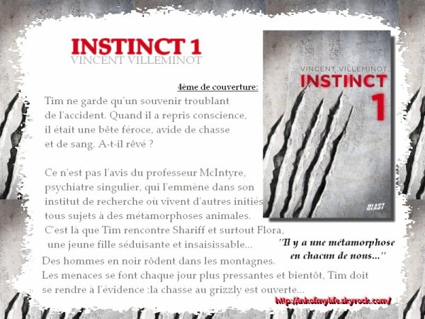Instinct 1 Vincent Villeminot