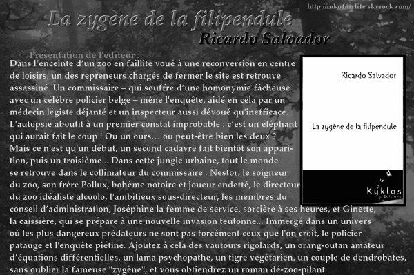 La zygène de la filipendule, Ricardo Salvador