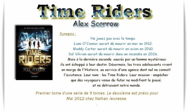 Time Riders T1 (Alex Scarrow)