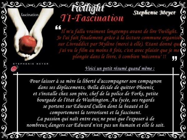 Twilight : Fascination (Stephenie Meyer)