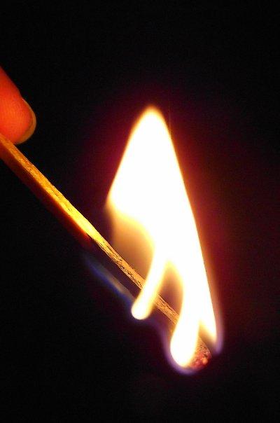 petite flamme...