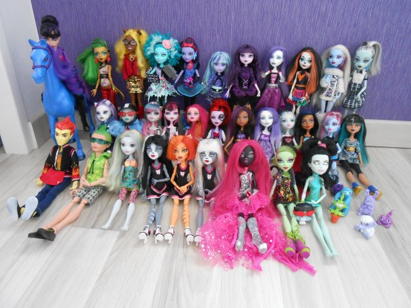 Photo de nos monster high ♥