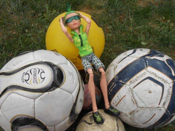 Deuce : Quel footballeur !♥