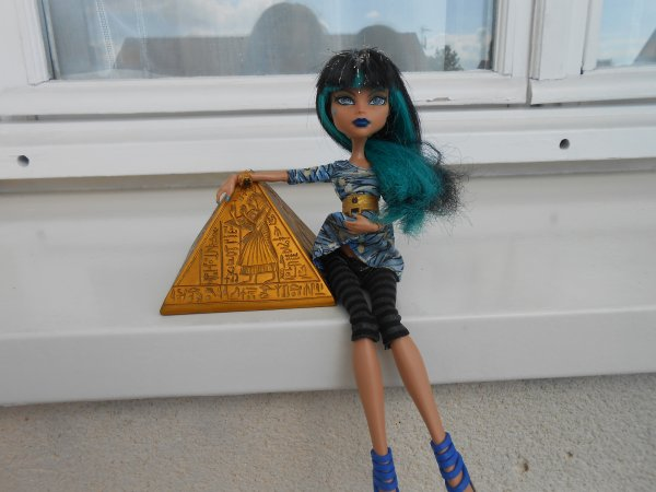 Cléo et sa pyramide , une grande histoire d'amour !♥