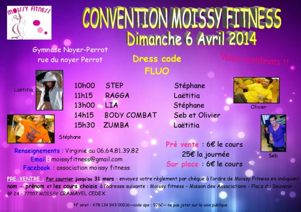 CONVENTION FLUO