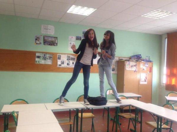 Oui nous on s'eclate en cour d'anglais ! xD