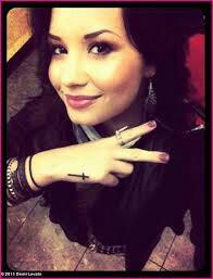Demi et son tatoo