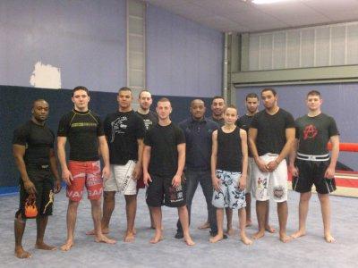 Good training cet après midi au Frigo