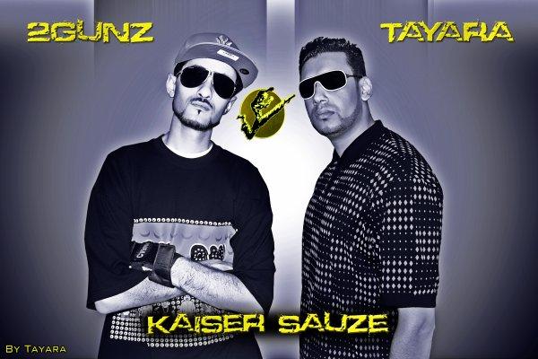 "2Gunz Feat Tayara - Kaiser Sauze ""Artwork"""