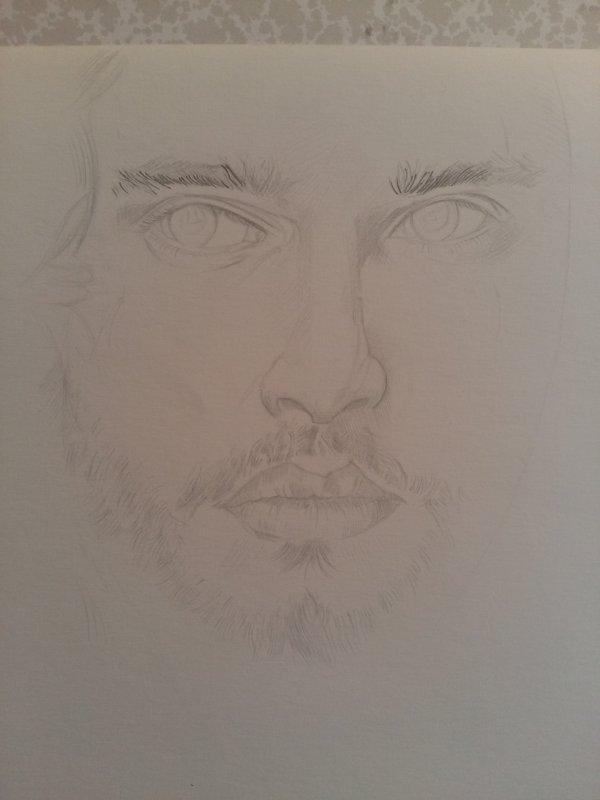 Nouveau portrait en cours 😊
