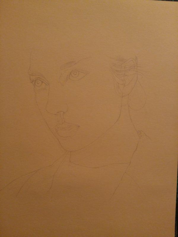 Nouveau portrait en cours