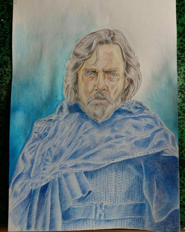 Terminé le grand Luke Skywalker alias Mark Hamill :)