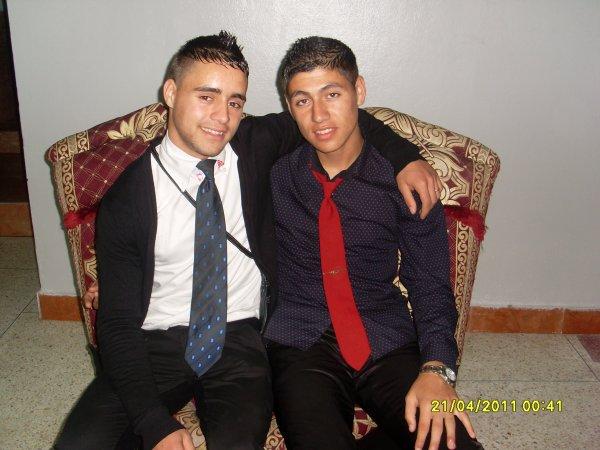 ........moi and mon frer