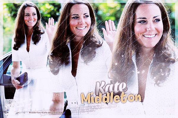 * MIDDLETON-KATE ▬ Ta source pour suivre le quotidien de Son Altesse Royale, la duchesse de Cambridge. *
