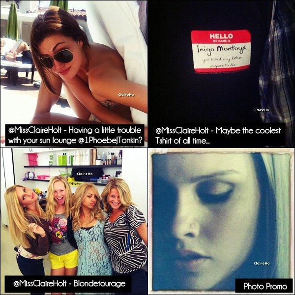 _____________________________________________________________  Quelque photos Twitter + Une photo promo de Vampire Diaries Saison 4. ________________________________  J'aime beaucoup la photo avec Kat' & Can!♥ _____________________________________________________________