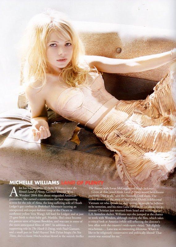 Michelle Williams - photoshoots en vrac
